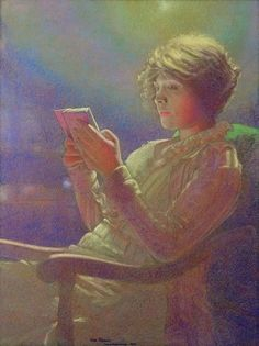 Leon Kamir-Kaufman - Woman Reading