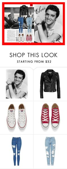 """Elvis"" by kistajermonika on Polyvore featuring IRO, Converse and Topshop"