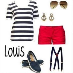 Louis Tomlinson from One Directions outfit in girl form. I wish I had this outfit because I love Louis Tomlinson