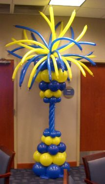 Cool! Crazy! Balloon Column                              …