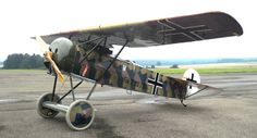 This Engels E6, Fokker Team Schorndorf's latest creation, is a faithful replica of the Fokker D.VIII. (Achim Engels)