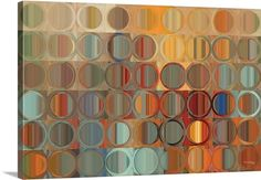 Circles and Squares 15, Modern Abstract Fine Art