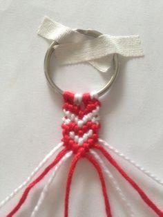 SYDÄN YSTÄVÄNAUHA | LISÄRIPANKKI Diy And Crafts, Crafts For Kids, Knots, Valentines Day, Projects To Try, Weaving, Diys, Cool Stuff, Knitting