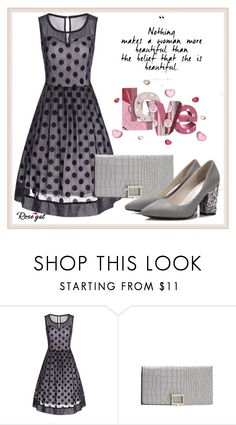 """""""Rosegal58"""" by aida-fashion ❤ liked on Polyvore featuring vintage"""