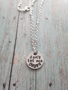 Bring Me The Horizon Drown Necklace by BandsAndMetal on Etsy