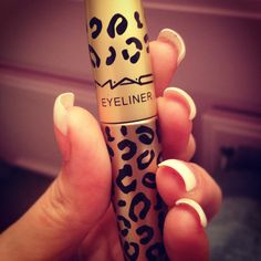 like i dont love eyeliner enough, now it comes in a leopard print tube!