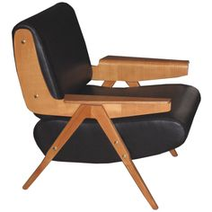 Compasso d'Oro Armchair by Gianfranco Frattini for Cassina, Italy, 1950's