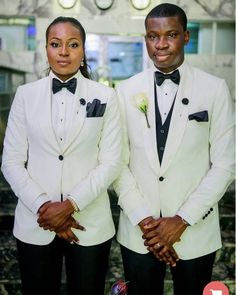Lady Is Her Brother's Best Man At His Wedding In Nigeria (Photos) - Events - Nigeria Best Man Outfit Wedding, Best Man Wedding, Lesbian Wedding, Wedding Suits, Dream Wedding, Wedding Things, Wedding Dresses, Wedding Stuff, Women Ties