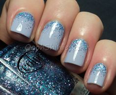 Oooh, Shinies!: Blogger Inspired Mani: The Polished Perfectionist