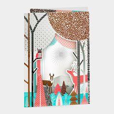 Winter Woodland Holiday Cards | MoMAstore.org