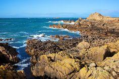 Guernsey's west coast.