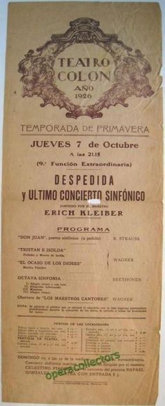 Kleiber, Erich conducting at Teatro Colon 1926 Colon Cleanse Powder, Bowel Cleanse, Colon Cleanse Diet, Natural Colon Cleanse, Colon Detox, Cleanse Detox, Colon Cleansing Foods, Don Juan, Clean Recipes