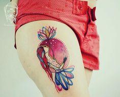 """And then something grows...#bumpkintattoo #inked #tattooed #figure #art design @lucybumpkin tattoo @richie_bumpkin"""