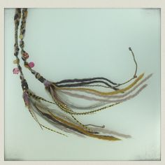 Lunara Design Long hair Extensions. Best for the festivals. Boho style. Burning Man.