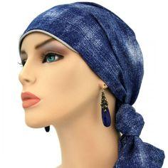 Designer Collection - 24 inch ties - Denim Look Lightweight Breast Cancer  Survivor fc4719473b1