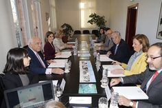 Vista general de la reunión de trabajo de la Fundación de Ayuda contra la Drogadicción (FAD) Sede de la FAD. Madrid , 12.01.2016