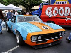 1967 Camaro.  Gulf Livery