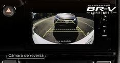 BR-V cuenta con cámara de reversa* para estacionarte de forma fácil y segura. #InesperadaBRV