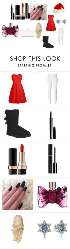 """""""Christmas talent show!!!!!!!!!!"""" by fashion-diva-844 ❤ liked on Polyvore featuring Rick Owens Lilies, UGG Australia, Marc Jacobs, Dolce&Gabbana, Chanel, Viktor & Rolf, Pandora and Ted Baker"""