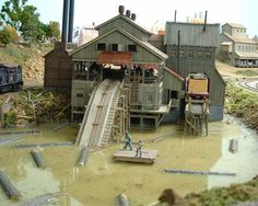 model railroad sawmills | Belleisle Creek