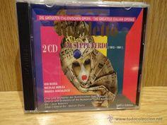 GIUSEPPE VERDI. RIGOLETTO. WORLD OF THE OPERA. DOBLE CD / AÑO 2000. CALIDAD LUJO