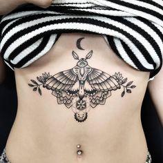 Lower Belly Tattoos, Leg Tattoos, Body Art Tattoos, Sternum Tattoos, Stomach Tattoos Women, Girl Tattoos, Tatoos, Simplistic Tattoos, Unique Tattoos