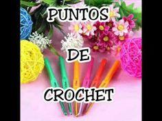 Puntos de Crochet Punto Mota - YouTube