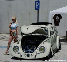 Babe and VW bug