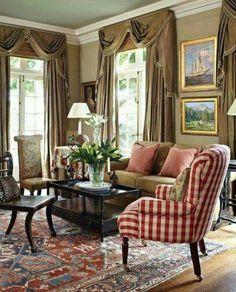 Living Rooms 4 | International Interior Design Firm | Greensboro ...