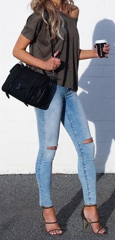 Khaki + Denim                                                                             Source