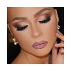 Sultry dramatic makeup look ❤ liked on Polyvore featuring beauty products, makeup and eye makeup