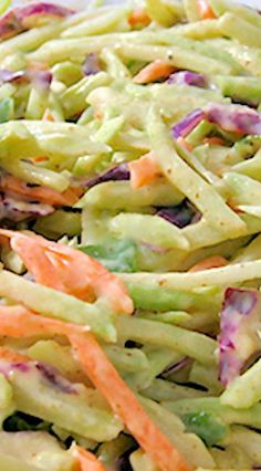 Super Low Calorie Honey Mustard Broccoli Slaw