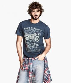 Marlon Teixeira Sports Casual Spring Styles for H&M