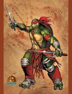 Raphael of the Teenage Mutant Ninja Turtles - CCS by Cadre.deviantart.com on @DeviantArt