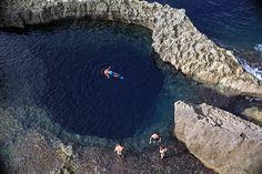 The Blue Hole, Dwejra Gozo, Malta