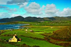 Explore the Emerald Ilse on an active vacation with VBT. #Ireland