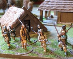 On the face of it, painting a war band for Saga shouldn't really take a month… War Band, Dark Ages, Saga, Celtic, Medieval, Miniatures, Irish, Gaming, Tray