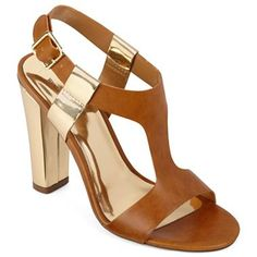 Worthington® Melody Chunky-Heeled Sandals - jcpenney