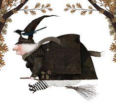"""Brujarella"" → Iban Barrenetxea - Ilustrador basco."