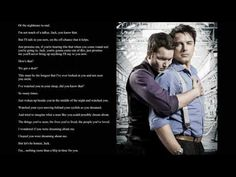 Torchwood - Deadline - Jack and Ianto's Speech Cut [Apparently I really, really need to listen to all these radio dramas...]