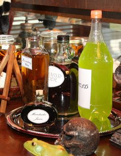My Harry Potter Party: Potions Class - The Ingredients