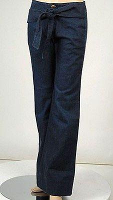 Found Denim Sash Trouser Womens Jeans Dark Siz 26