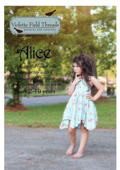 Alice de Violette Field Threads de 2 à 10 ans