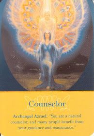 A blog about Angel's with daily Archangel oracle card readings from Doreen Virtue's Archangel Oracle Cards