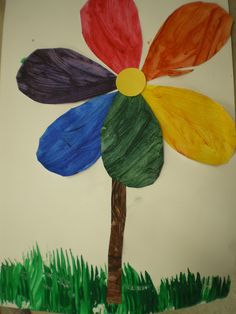 from Mrs. Bremer's Kindergarten: The Colour Wheel: A Spring Art Lesson