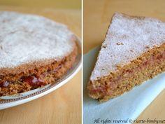 torta al grano saraceno e marmellata di ribes #bimby