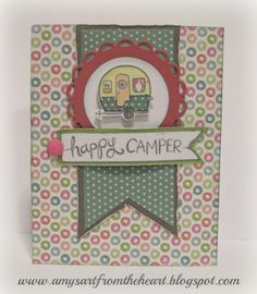 Amy's Art from the Heart, lollydoodle, camper crazy,