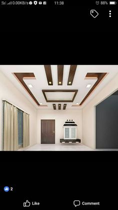 5 Sparkling Tips: False Ceiling Plan false ceiling living room fan.Simple False Ceiling For Office false ceiling design modern. Home Ceiling, Pop Design, Pop False Ceiling Design, Modern Ceiling, Ceiling Design Modern, Bedroom Ceiling, Wall Design, Roof Design, Exterior Wall Art