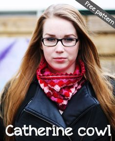 Free pattern for Catherine cowl #crochet