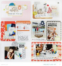 Project Life | Week 45 & Week 48I don't even know where to begin in expressing how mind-blowing this January kit is! The reveal in the CT gallery basically sums it all. The amount of amazingness these girls churned out, it's pure awesomeness! Don't you agree? :)The Copper Mountain kits…